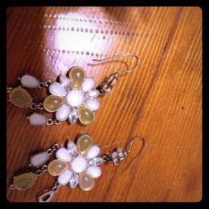 Banana Republic dangling flower earrings